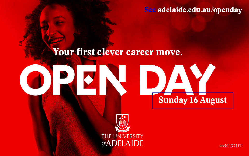 Sam Chisholm University of Adelaide Open Day